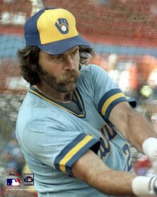 Gorman Thomas - One of the Brewers best players of all time! He was nicknamed Stormin Gorman! He was part of the 1982 team that went to the 1982 world series!