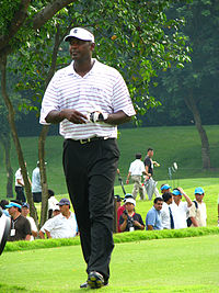 Vijay Singh - A very good golf player.