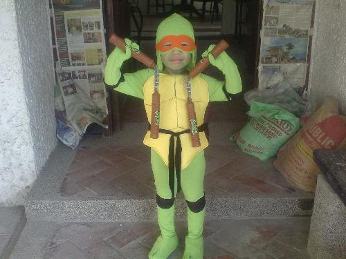 My Nephew - A picture of my nephew in costume.