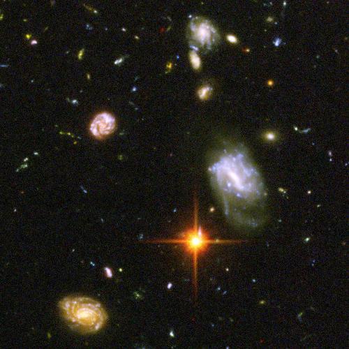 universe - Hubble deep field.