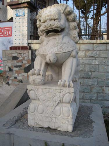 stone lion - a nice statue