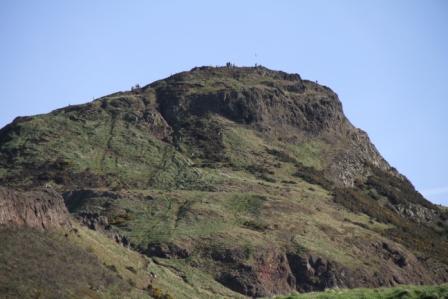Arthurs seat - The peak of Arthurs seat