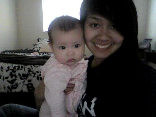 Baby sister - My baby sister, who I love the most. (: