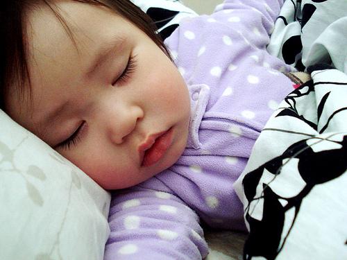 Sleeping - My baby sister sleeping