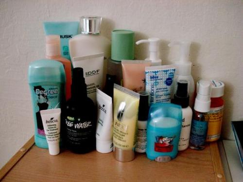 Products - Some skincare products I own.. but I don't use all of it.