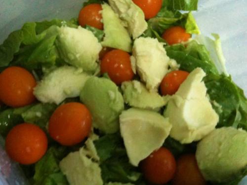 Avocado Salad - A picture of a avocado salad