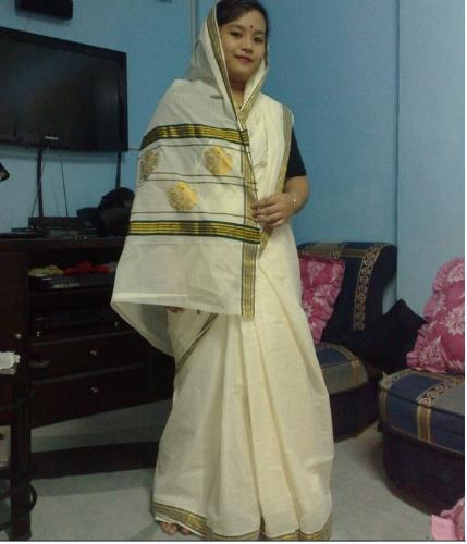 a saree from an Indian friend...a special gift tha - a saree from an Indian friend...a special gift that counts the most