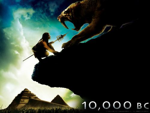 Adventure Movie - 10000 B.C very exciting movie.