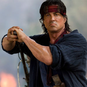 Rambo - Sylvester Stallone at his best in this movie.