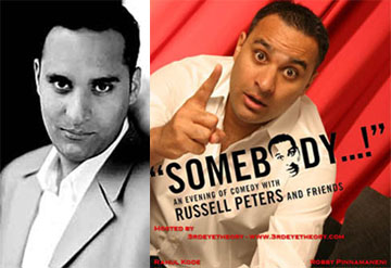 russell peters  - comedian russell peters