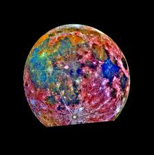 colorful moon - colorful moon looks very pretty