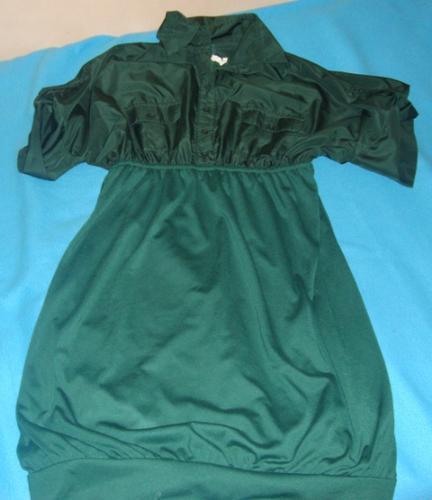 green dress - one of the dresses I treasure