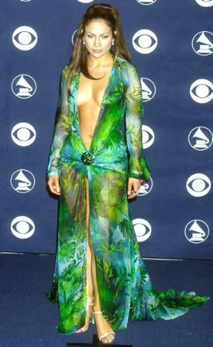 JoLo - Jennifer Lopaz wore this dress back in 2000 when she was dating Shawn'Puffy'