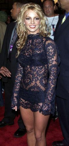 Britney Spears  - One of Britney's better outfits! Very rarely does she wear something nice!