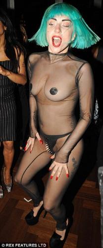Modesty - Lady Gaga's public appearance
