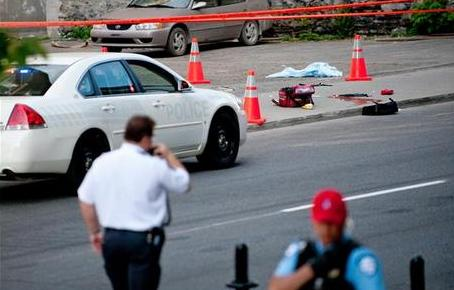 One dead, one injured - Cops cant shoot anymore
