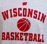 Badger T-Shirt - A Wisconsin Badger t-shirt for the basketball team.
