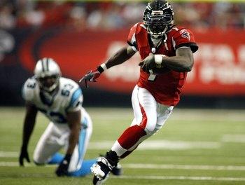 Michael Vick - Wore out his welcome in Atlanta thanks to his dog fighting kennel and jail time!