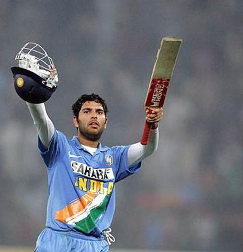 Yuvraj Singh - One of the great all-rounder in Indian cricket.