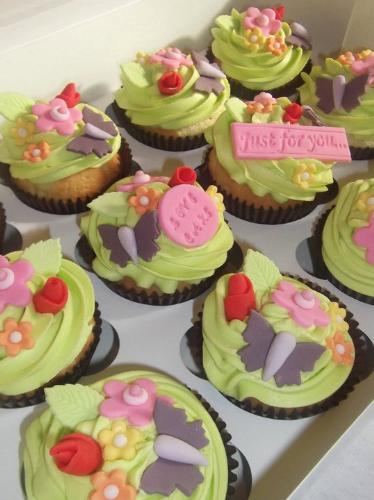 Delicious Cupcakes - A sample of the cakes my daughter is currently making