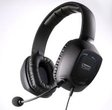 Tactic Sigma 3D headset - closed ear, 50 mm drivers, incredibly comfortable, leather phones, affordable compared to many headsets out there, and also has microphone and headphone 3.5 mm jacks, with the ability to convert to USB.