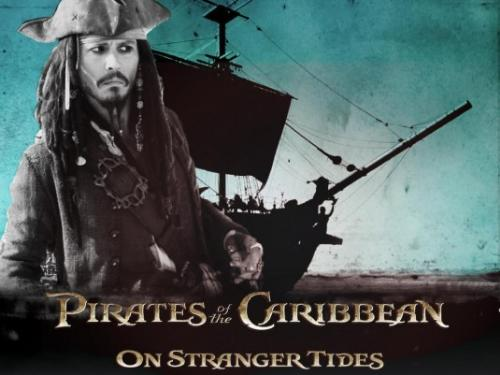 Pirates of the Caribbean Picture - Just a Picture of the advertisement of 'on Strangers tide' with depp on the front. As he of course is the main character