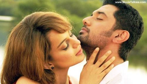 film one and only - chirag paswan and kangana in 'one and only'