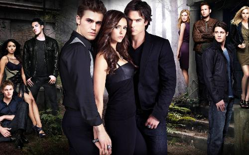 vampire diaries - this are the characters of my favorate show