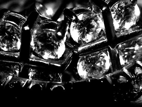 diamonds - A diamond ring, shot in 10000x macro mode. Using Nikon anti-canon lens, for supreme magnification.