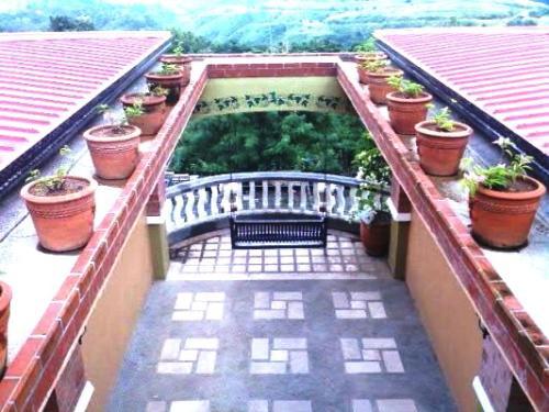 Balcony - A balcony.