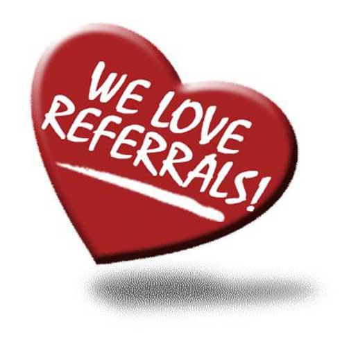 Referrals - Happy Referrals!