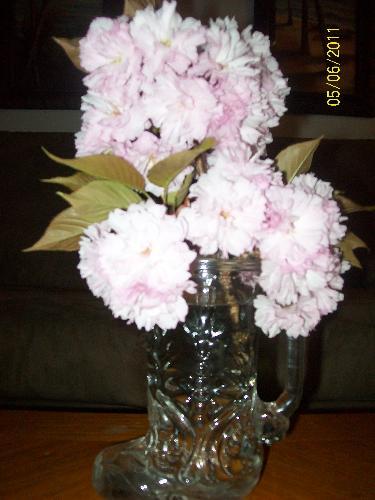 fresh flowers - smelling sweet!