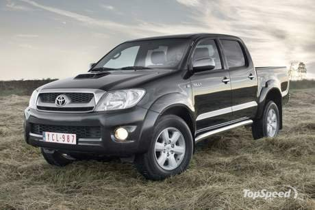 Toyota Hilux - A very nicely designed vehicle that can double up both as a goods vehicle and a family car IMHO.