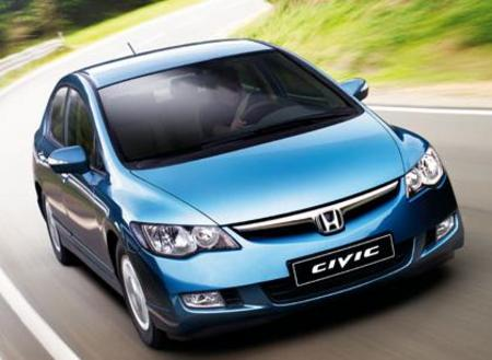 Honda Civic - The new Honda Civic is quite a looker!