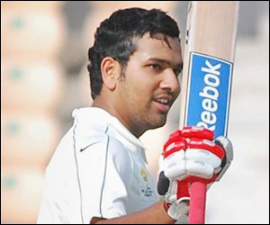 Rohit - Rohit,an outstanding cricketer.