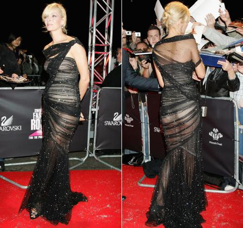 Uma Thurman - Uma had a pretty interesting dress on here! She pulled it off!