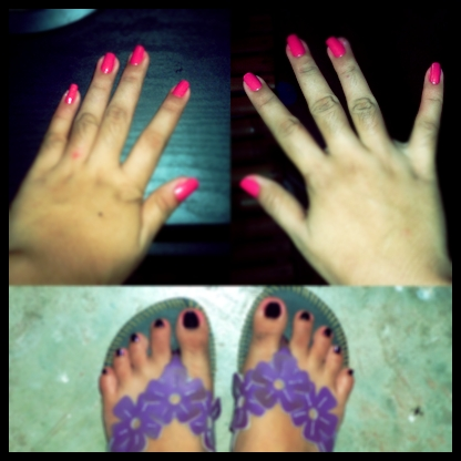 My Nails - I finally did it myself.. YEPEY!!!