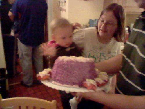 me an my daughter - trinity an me on her first bday