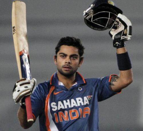 virat Kohli - an exciting young cricketer