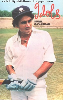 Sunil Gavaskar - exciting young cricketer at the age 18.