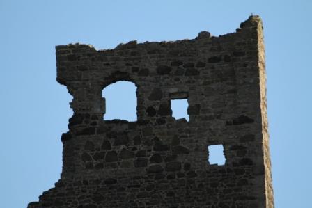 Part of a ruined chapel - Part of a ruined chapel in Edinburgh