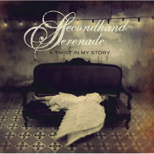 Secondhand Serenad album cover - This is the photo cover of album 'Twist in my Story' by Secondhand Serenade