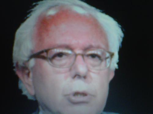 Bernie Sanders - A photo of the Independent Senator from Vermont. He is the senior Senator from Vermont.