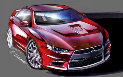Mitsubishi Lancer - A very good looking car. Especially if you can find the time to modify it!
