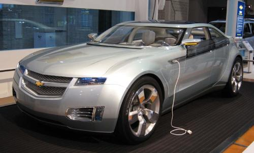 Chevolet Volt - The concept electric car from Chevolet