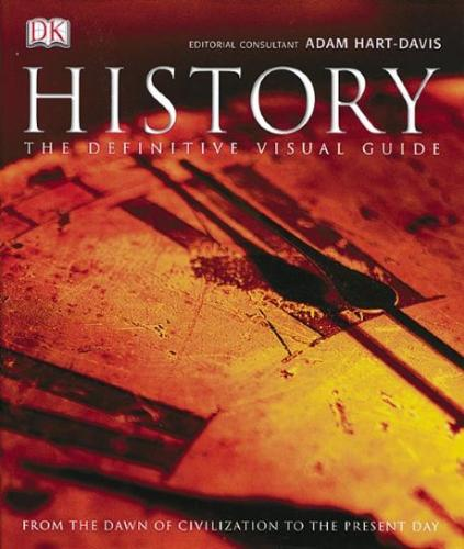 History  - The cover of a history book