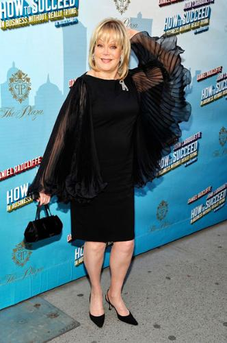 Candy Spelling - The sleeves on this dress make me think of wings and she should fly away! Really she should because the dress is horrible!