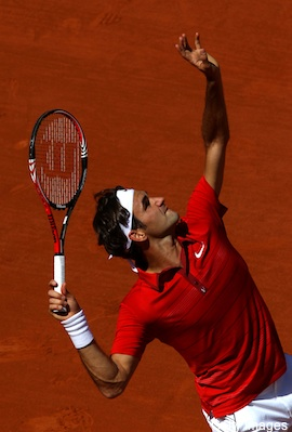 Roger Ferderer - Federer is in the top two with Rafeal Nadel!