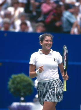 Monica Seles - Back in the day Monica Seles was the best female tennis player in the world!