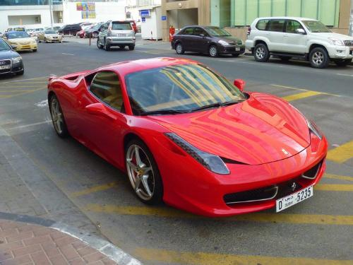 Car - Cool red car.